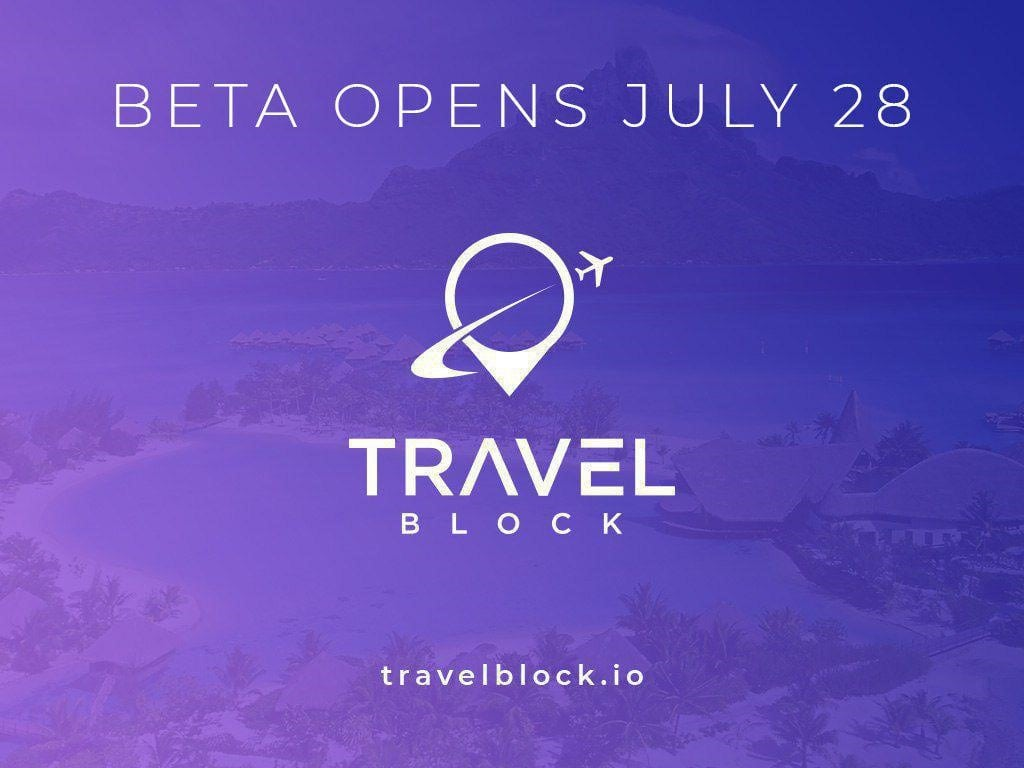 TravelBlock.io Launches BETA Test Today: Offers Free Vacations to Testers/Token Holders