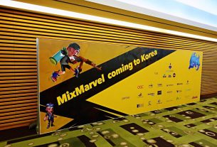 World No.1 Blockchain Game Publishing Platform Mixmarvel Held News Conference Successful in South Korea