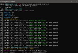 WildRig Multi 0.16.3 Beta AMD GPU Miner With Extra Performance and New Algorithms