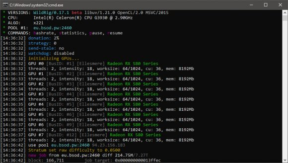 WildRig Multi 0.17.1 Beta AMD GPU Miner With Support for the New X25x Algorithm
