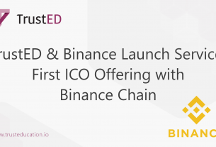 TrustED to Launch Platform and Token Offering on Binance Chain
