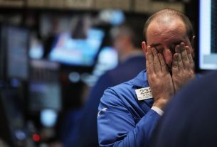 Dow Collapses as Brutal Risk Cocktail Hammers Stock Markets Worldwide