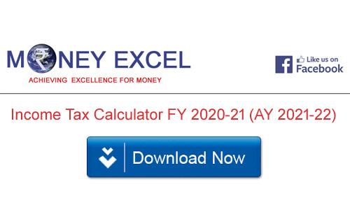 Income Tax Calculator FY 2020-21 (AY 2021-22) – Excel Download
