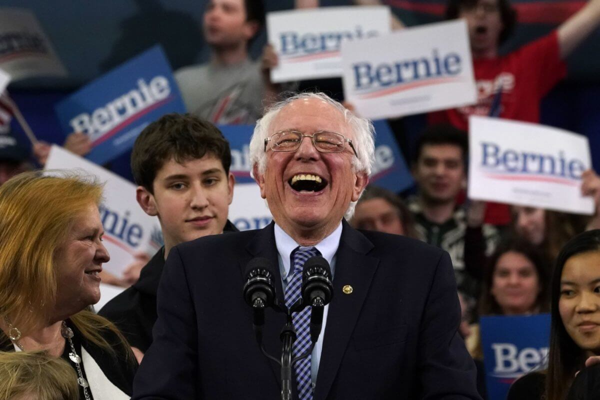 Dow Futures Surge As Bernie Rocks New Hampshire Primary