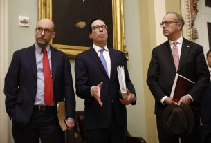 Dow Futures Dive as Bloomberg Leaks Mnuchin's 20% Unemployment Fear