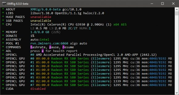 New XMRig 6.0.0-Beta Miner With KAWPOW Support for AMD and Nvidia GPUs
