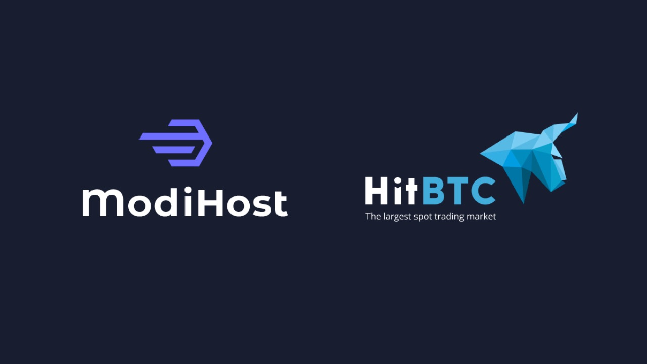 ModiHost's Token Is Live on HitBTC, the Leading European Bitcoin Exchange