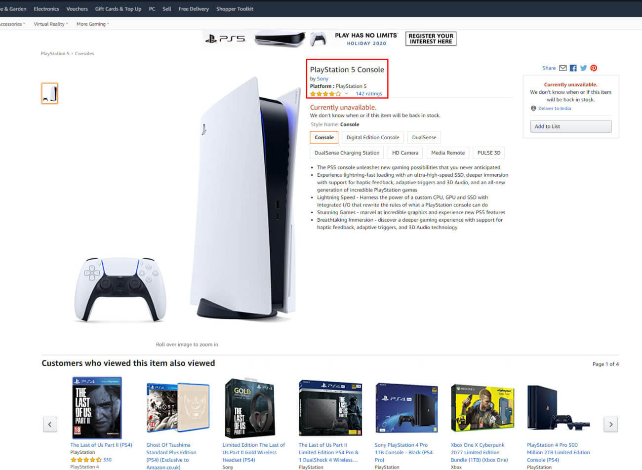 Amazon PlayStation 5 Reviews Hit Early – And They're What You Expected