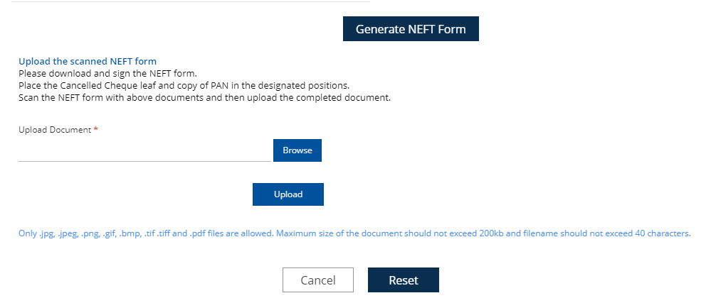 How to Submit LIC NEFT Mandate online for Faster claim settlement?