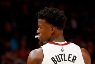 Jimmy Butler Is So Good on Defense That He Blocked His Entire Family