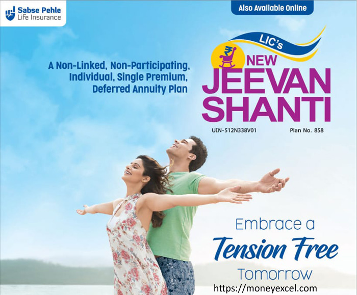LIC New Jeevan Shanti – Plan 858 – Review Features & Benefits
