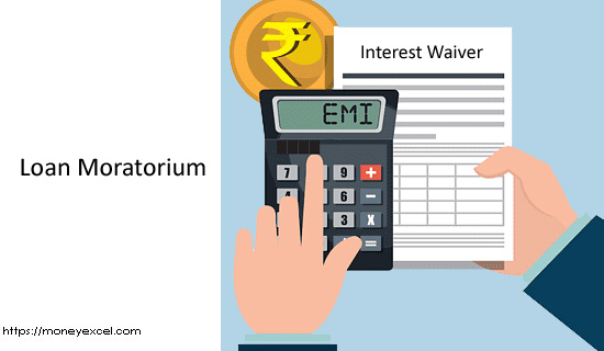 EMI Loan Moratorium – Interest Waiver Cashback from Bank