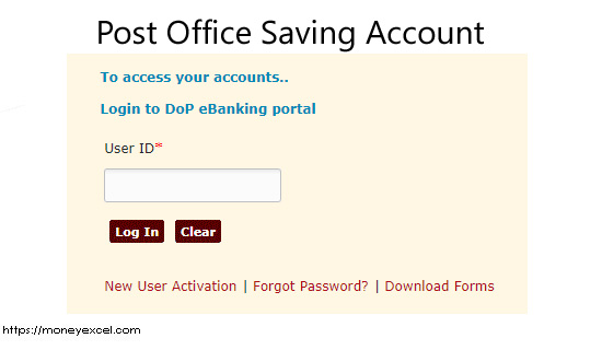 How to open a Post Office Savings Account and activate online?