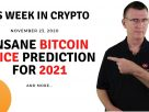 Insane Bitcoin Price Prediction for 2021 | This Week in Crypto – Nov 23, 2020