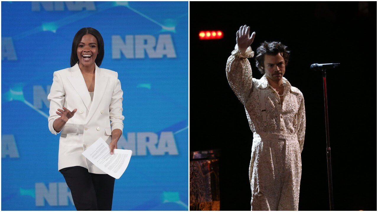 Candace Owens Just Played Harry Styles Like an Adorable Fiddle