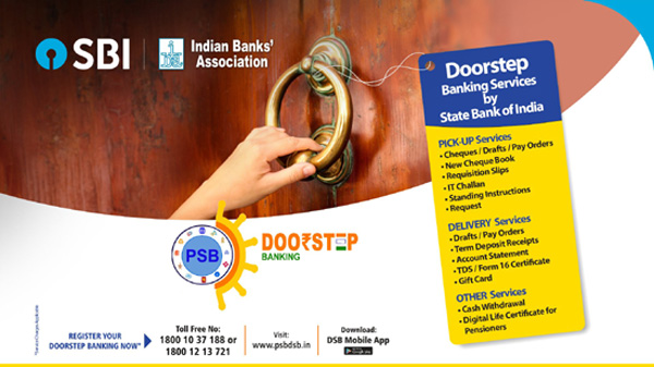 Doorstep Banking SBI and other Banks – How to Register?