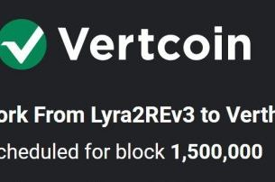Mine VertCoin (VTC) After the Switch to the Verthash Algorithm