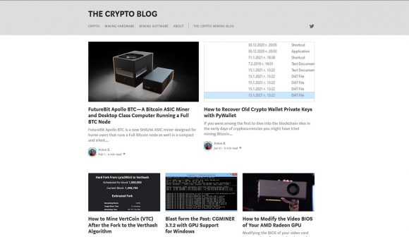 The Crypto Blog on Medium is Looking for Authors
