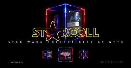Starcoll To Issue Limited Edition Star Wars Collectibles as NFTs
